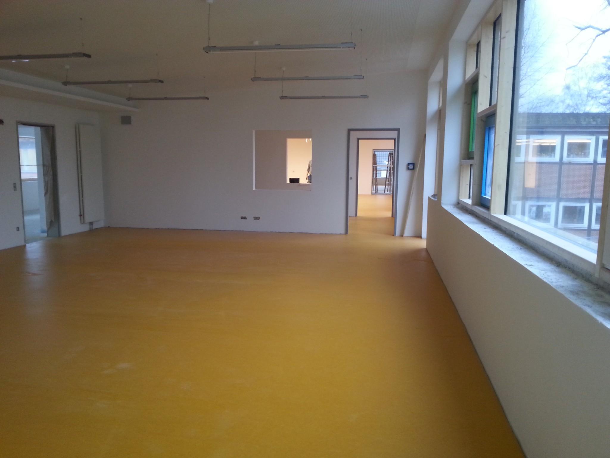 Fußboden Im Neubau ~ Der neubau nimmt form an u schule ochsenwerder